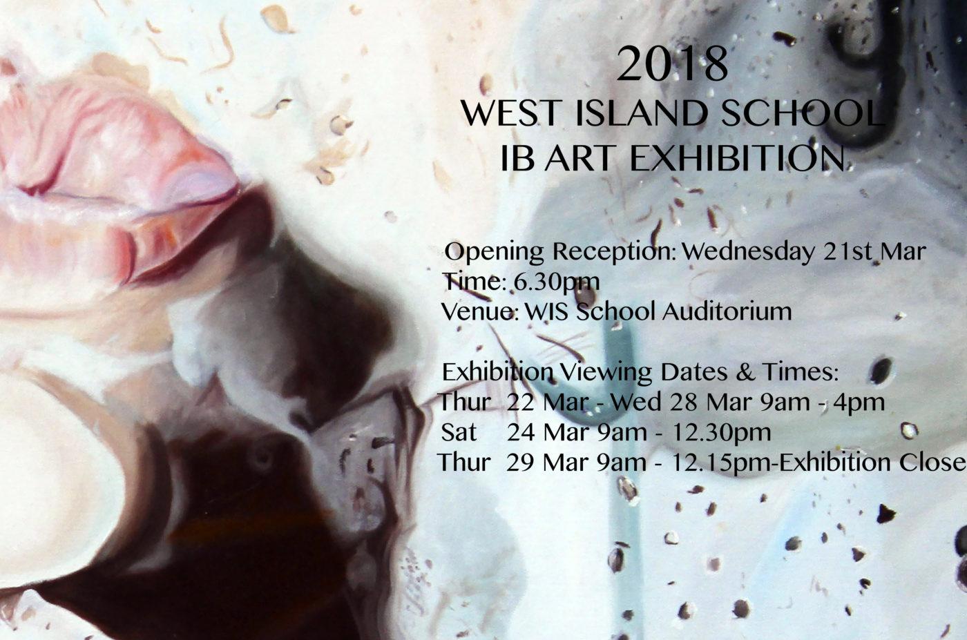 West Island School Esf E Invite Ib Art Exh 2018 1 West Island